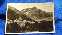 Riezlern 1100 M Mit Widderstein 2536 M Blick Auf Hirschegg Und Mittelberg Austria - Austria