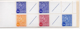 PIA - FINLANDIA  - 1972 : Carnet Di 1,00 Con Francobolli Di Uso Corrente Leone Rampante  - (Yv C537aB II ) - Libretti