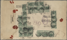 Hongkong - Treaty Ports: 1916. Large Envelope Written From 'John Manners/Canton' With Oval Firms Cho - Hong Kong (...-1997)