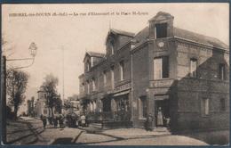 Bihorel Les Rouen , La Rue D'Etancourt Et La Place St Louis , Animé - Bihorel