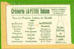 Buvard & Blotting Paper : Produits Laitiers CREMERIE LA PETITTE SUISSE  Beurre Creme Fromage Yoghourt - Produits Laitiers