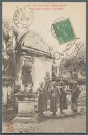 Kambodscha: 1906. Picture Postcard Of The 'Water Festival, Phom Penh' Addressed To Kratie Bearing In - Kambodscha