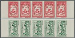Kambodscha: 1954, Definitive Issue Complete Set Of 20 (Phnom Daun Penh, Angkor Thom, Coat Of Arms An - Kambodscha