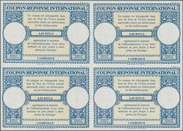 Kambodscha: 1955 (approx). International Reply Coupon 4,00 Riels (London Type) In An Unused Block Of - Kambodscha