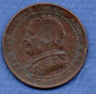 Vatican  -  1 Soldo 1867 R -  Km # 1372.2  -  état  TB - Vaticano