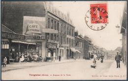 Tergnier , Avenue De La Gare , Animé - Other Municipalities