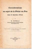 ALGERIE ORAN PECHE AU FEU NOVELLA CASTIGLIONE ALGER - Documentos Históricos