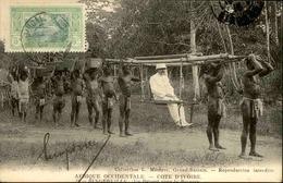 CÔTE D 'IVOIRE - Carte Postale - Bingerville - Chaise à Porteurs - Départ Pour La Brousse - L 30196 - Ivory Coast
