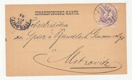 Hungary Serbia Jova Karamat, Zemun Company Postcard Travelled 1897 To Mitrovitz D B190601 - Serbie