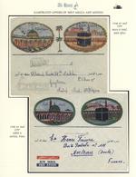 "Saudi-Arabien: 1948-58, Two Pilgrim Envelopes ""AL-HAJJ"" With Decorative Imprints Postally Used From - Saudi-Arabien"
