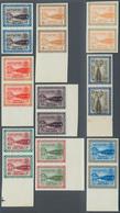 """Saudi-Arabien: 1960, Freimarken """"Staudamm Hanifa"""" Aus ½ Pia Bis 10 Pia, 8 Senkrechte Und 1 Waagrecht - Saudi-Arabien"""