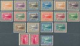 Saudi-Arabien: 1960/61, Dam Definitive Complete Set, Mint Never Hinged MNH (SG 412/27, Scott 211/226 - Saudi-Arabien