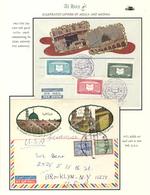 "Saudi-Arabien: 1963-72, Two Pilgrim Envelopes ""AL-HAJJ"" With Decorative Imprints Holy Kaaba, One Pos - Saudi-Arabien"