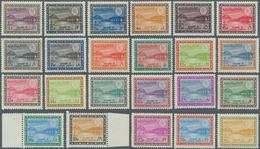 Saudi-Arabien: 1966/75, Dam King Faisal Cartouche Unwmkd. 1 Pia-200 Pia. Set, Mint Never Hinged MNH, - Saudi-Arabien