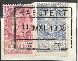9Ab-909: HAELTERT: Type C-k: Spoorweg Staatslijn Op N°58 & 60 : Op Fragment - 1893-1900 Fine Barbe