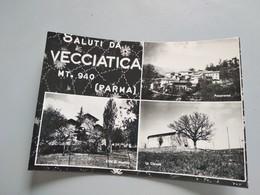 CARTOLINA SALUTI DA VECCIATICA - Parma