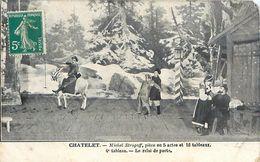 Cpa PARIS - CHATELET - Michel Strogoff, Pièce En 5 Actes Et 16 Tableaux - 4e Tableau - Le Relai De Poste - Arrondissement: 01