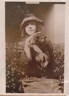 MICKEY  A HONEY BEAR DELPHINE HEYL 1921  ZOO ANIMAUX ANIMALS ANIMALES   19 * 15 CM Fonds Victor FORBIN 1864-1947 - Photographs