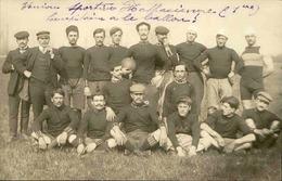 SPORTS - Carte Postale Photo - Equipe De Football ( Battue Par Saint Jean D'Angely 23 à 8 ) - L 30199 - Football