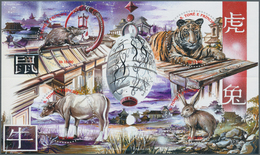 Thematik: Astrologie / Astrology: 2002, SAO TOME E PRINCIPE: Chinese Signs Of Zodiac Complete Set Of - Astrologie