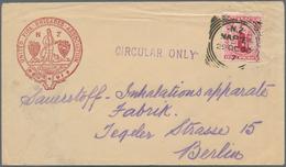 "Thematik: Feuerwehr / Firebrigade: 1902, Printed Matter Envelope Preprinted With The Cachet Of ""UNIT - Feuerwehr"