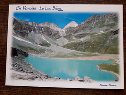 L21/306 En Vanoise. Le Lac Blanc. Au Pied Du Col Du Souffre - France