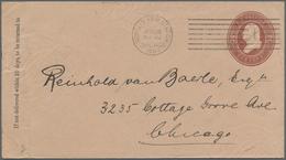 Thematik: Messen-Weltausstellungen / Fairs, World Exhibitions: 1893, WORLD`S FAIR STATION CHICAGO JU - Weltausstellung