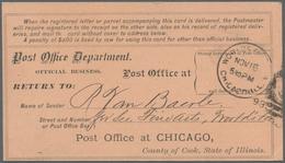 """Thematik: Messen-Weltausstellungen / Fairs, World Exhibitions: 1893, """"WORLD'S FAIR P.A. CHICAGO ILL. - Weltausstellung"""