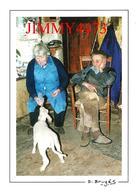 CPM - Marie Et Jean BRUGES Donnent Le Biberon à L'agneau  NEUVEGLISE 15 Cantal - Photo Daniel Brugès - Scans Recto-Verso - Fermes