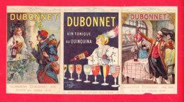 Calendrier-09Ph104  Année 1920, Calendrier DUBONNET, 3 Volets, Affiches De Dubonnet, BE - Small : 1901-20