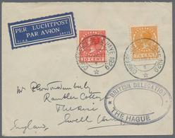 Thematik: Politik / Politics: 1929, The Netherlands. Service Letter From The British Delegation. - A - Sonstige