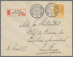 Thematik: Politik / Politics: 1929, The Netherlands. Service Letter From The British Delegation, Sen - Sonstige