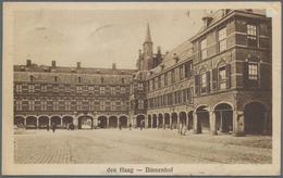 Thematik: Politik / Politics: 1929/1930, The Netherlands. Postal Card From The French Delegation. - - Sonstige