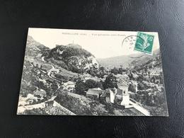 ROSSILLON (Ain) Vue Generale (Coté Ouest) - 1910 Timbrée - France