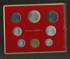 VATICANO (1960 - ANNO II°) - SET / SERIE COMPLETA Di 8 VALORI - GIOVANNI XXIII - Vaticano