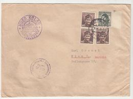 Czechoslovakia Letter Cover Travelled 194? Hugo Kolar Bratislava To Wien Censored D B190601 - Checoslovaquia