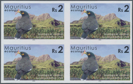 Thematik: Umweltschutz / Environment Protection: 2006, Mauritius. IMPERFORATE Block Of 4 For The 2rs - Umweltschutz Und Klima