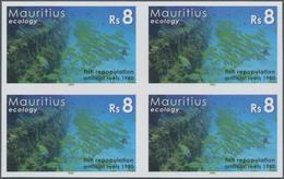 Thematik: Umweltschutz / Environment Protection: 2006, Mauritius. IMPERFORATE Block Of 4 For The 8rs - Umweltschutz Und Klima