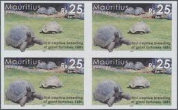 Thematik: Umweltschutz / Environment Protection: 2006, Mauritius. IMPERFORATE Block Of 4 For The 10r - Umweltschutz Und Klima