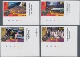 Thematik: Vulkane / Volcanoes: 2011, TRISTAN DA CUNHA: 50th Anniversary Of Evacuation Due To Volcani - Vulkane
