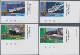Thematik: Vulkane / Volcanoes: 2013, TRISTAN DA CUNHA: 50th Anniversary Of Volcanic Eruption (ships - Vulkane