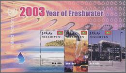 Thematik: Wasser / Water: 2003, MALDIVES: International Year Of Freshwater Complete Set Of Three In - Sonstige