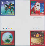Thematik: Weihnachten / Christmas: 2007, ANTIGUA & BARBUDA And DOMINICA: Christmas Two Different Com - Weihnachten