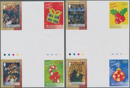 Thematik: Weihnachten / Christmas: 2008, TURKS & CAICOS ISLANDS And TUVALU: Christmas Two Different - Weihnachten
