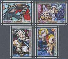 """Thematik: Weihnachten / Christmas: 2009, Antigua & Barbuda. Complete Set """"Christmas"""" (4 Values) In I - Weihnachten"""