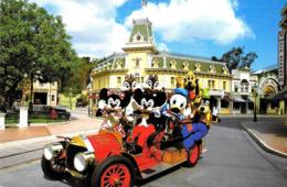[MD3488] CPM - DISNEYLAND - NO ALARM - MICKEY MINNIE E I SUI AMICI - Viaggiata 1988 - Disneyland