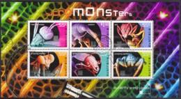 Australia 2009 Micromonsters Minisheet Used - 2000-09 Elizabeth II