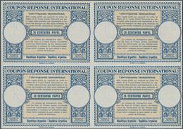 Argentinien - Ganzsachen: 1947. International Reply Coupon 35 Centavos Papel (London Type) In An Unu - Ganzsachen