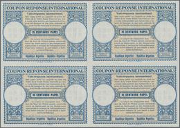 Argentinien - Ganzsachen: 1948/1952. Lot Of 2 Different Intl. Reply Coupons (London Design) Each In - Ganzsachen