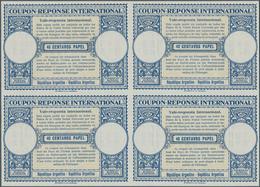 Argentinien - Ganzsachen: 1950. International Reply Coupon 40 Centavos Papel (London Type) In An Unu - Ganzsachen